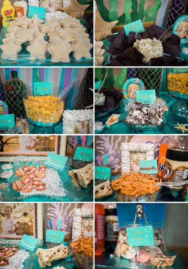 Mermaid Beach Party Ocean Birthday Party Mermaid Birthday