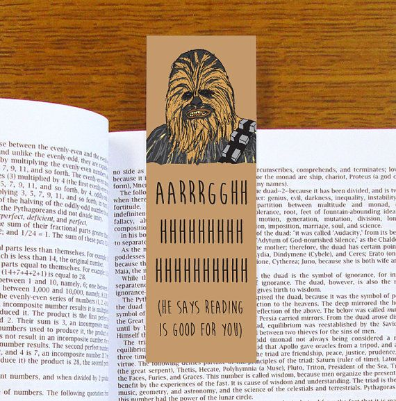 Hey, I found this really awesome Etsy listing at https://www.etsy.com/listing/247498283/chewbacca-bookmark-star-wars