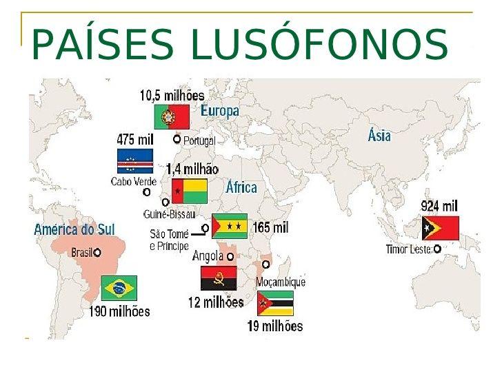 Paises Lusofonos Mapa Szukaj W Google