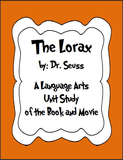 The Lorax is such a great book about environmental awareness. Children love learning with Dr. Seuss texts and always love watching a movie.