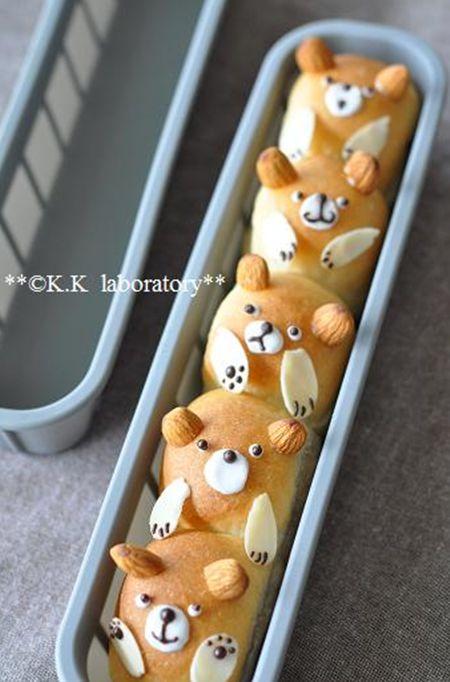 pan-casero-en-forma-de-oso