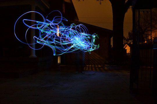 Light Graffiti Patricia Simas