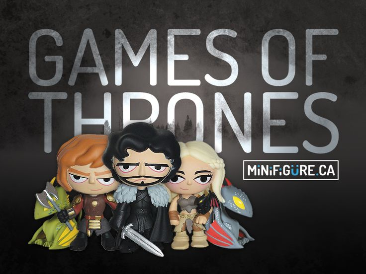 Are you a Game of Thrones fan?   Get your hands on our collectible Funko minis. All at 9.99$