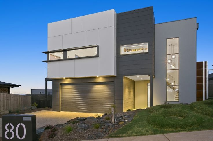 A mix of Scyon Cladding and Unitex Render externally.  Design & Construct by Pivot Homes.
