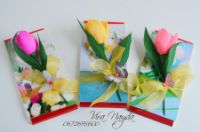 Gallery.ru / Фото #18 - Невеликі букетики та оформлення коробок цукерок - viranayda