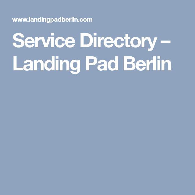 Service Directory – Landing Pad Berlin