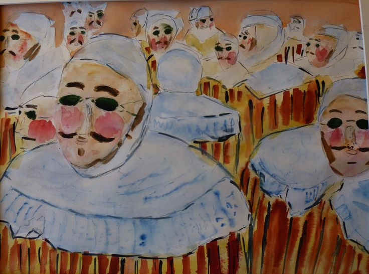 Gilles de Binche - Masque II