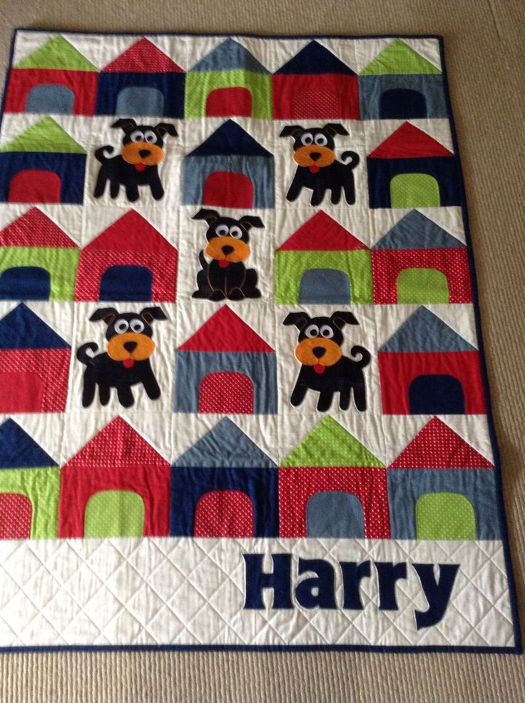 Quilt for Harry's first birthday