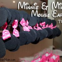 How to Make Mickey Minnie Mouse Ears for a Party!