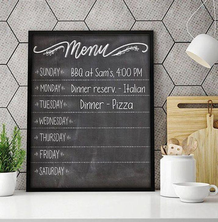 20 Creative Chalkboard Kitchen Decor Ideas In 2020 Kitchen Chalkboard Chalkboard Kitchen Blackboard