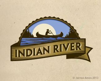 IndianRiver | #logo #design #inspiration #icon #gallery #logotype #identity #branding