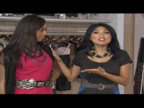 From belts and scarves to necklaces and tights, Jeannie Mai shows how to jazz up your work clothes without breaking the bank!