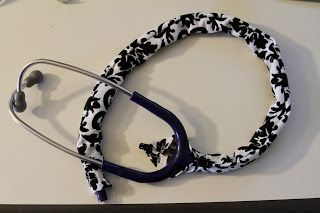 How to make a Stethoscope Cover   Made With Love and Imperfections