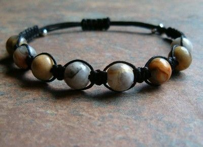 Crazy Lace Agate Healing Energy Bracelet ~ Crazy Lace Agate promotes balance, security, inner stability, composure & maturity, encourages self-confidence, dispels negativity and absorbs emotional pain, and fosters focus and decision making.