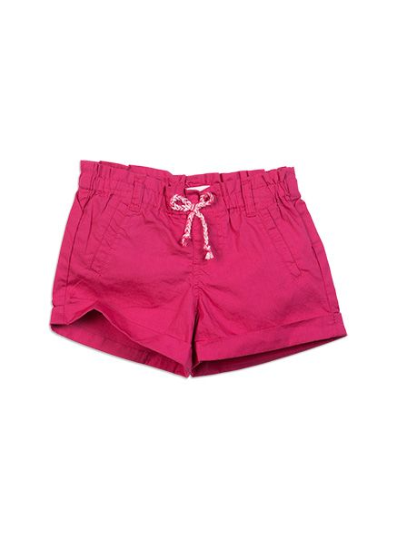 Girls Essentials Zoe Pull On Shorts Fuchsia Rose shorts