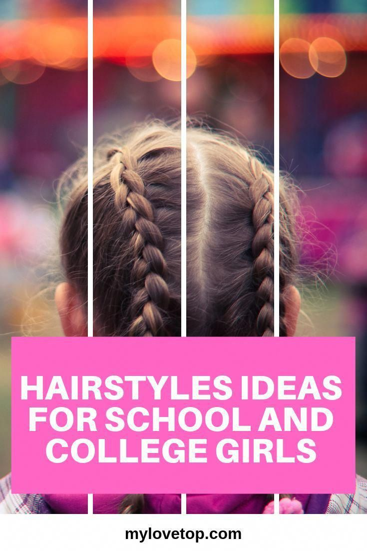 HAIRSTYLES IDEAS FOR SCHOOL and COLLEGE GIRLS #hairstyles #icyblonde #longhairstyles