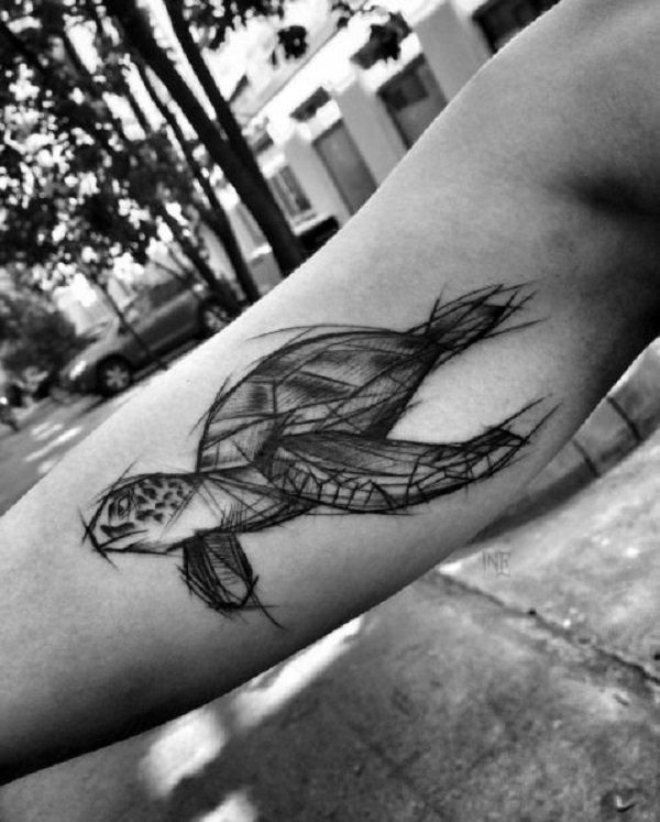 Pin By Ema On Tattoo Ideas Sketch Style Tattoos Turtle Tattoo