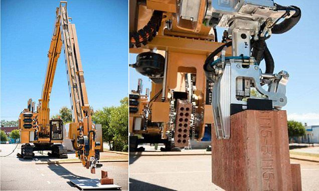 Meet the robot builder that can build a house by itself in two days