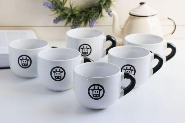 Serwis kawowy do cappuccino BIALETTI MUKKA na 6 osób (6 el.)
