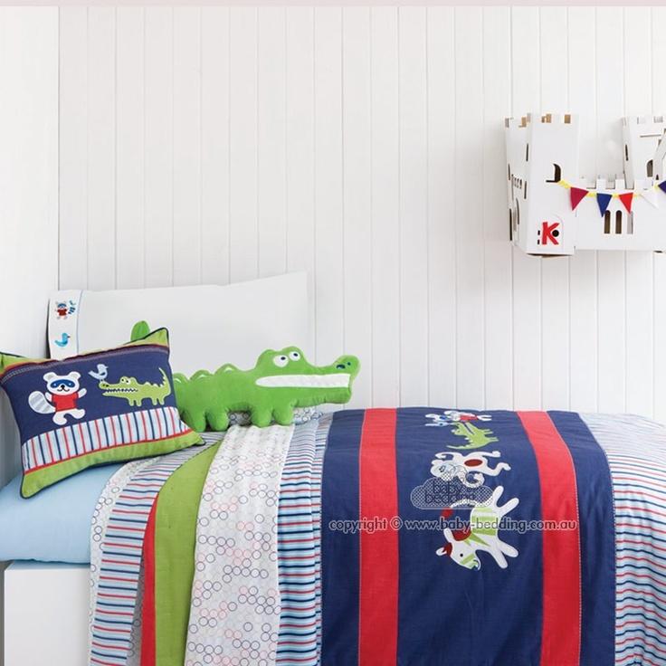 Boy Cot Bed Sheets