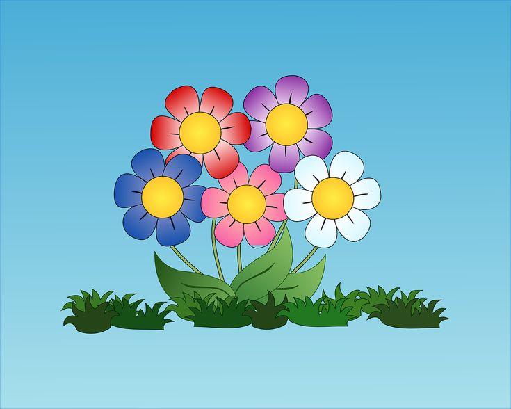 Digital Konst, Teckningar, Blommor, Blomma, Blommande