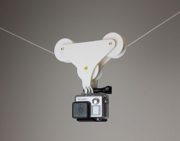 3D Printable GoPro Pulley    by Valentin Lheureux  #3dprinting #3design #3dprinted #myminifactory #3dprinters #3dfilament #download #design #3dobject