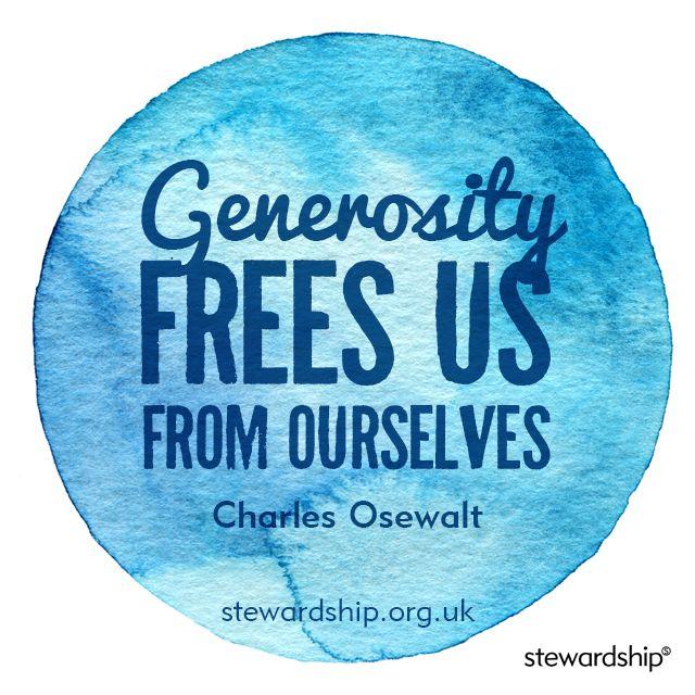 biblical definition of generosity