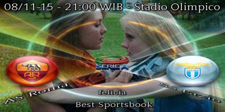 By : Felicia | ITALIA SERIE A | AS Roma vs SS Lazio |Gmail : ag.dewibet@gmail.com YM : ag.dewibet@yahoo.com Line : dewibola88 BB : 2B261360 Path : dewibola88 Wechat : dewi_bet Instagram : dewibola88 Pinterest : dewibola88 Twitter : dewibola88 WhatsApp : dewibola88 Google+ : DEWIBET BBM Channel : C002DE376 Flickr : felicia.lim Tumblr : felicia.lim Facebook : dewibola88