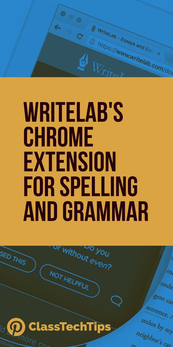 Teaching with Chromebooks? Free Chrome extension for spelling and grammar! Check out this Chromebook spelling and grammar tool for students.