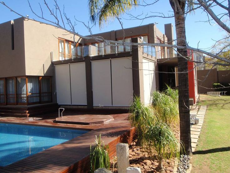 Reflect your style outside with SheerWeave outdoor blinds by Blind Time: www.blindtime.co.za)