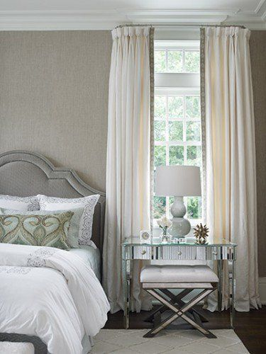 the curved curtain rod is a nice detail tudor style master bedroom style file the tudors