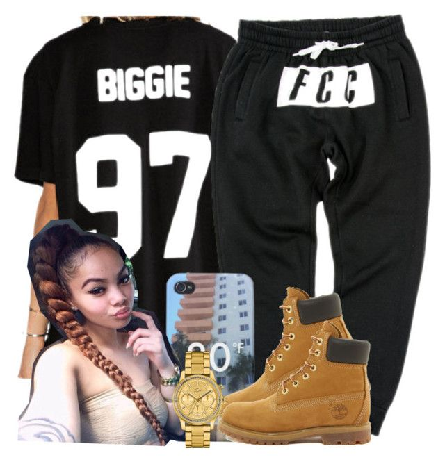 """""""."""" by trillest-queen ❤ liked on Polyvore featuring Timberland and Lacoste"""