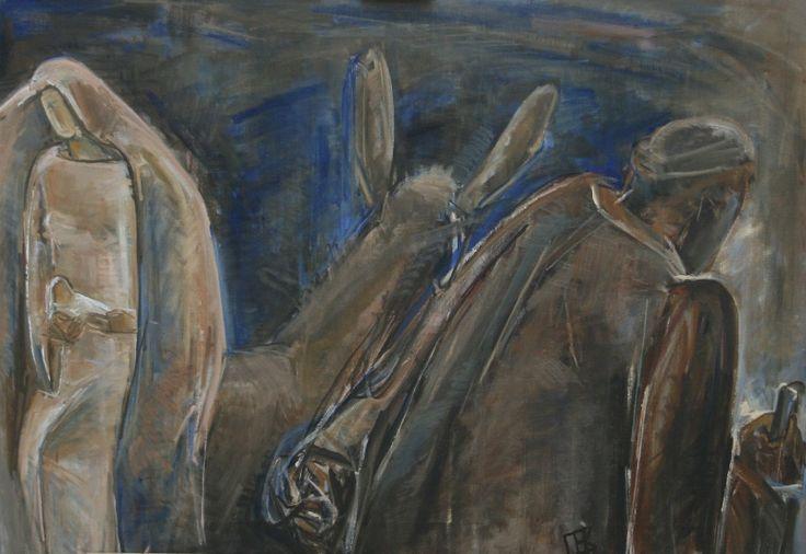 "Екатерина Палеева-Воробьева ""Бегство в Египет"" 2013"