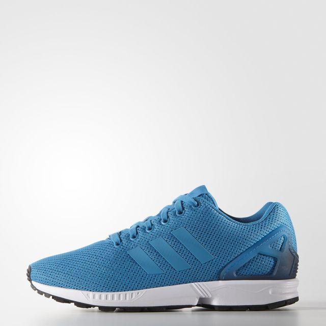 adidas ZX Flux Shoes - Blue | adidas UK