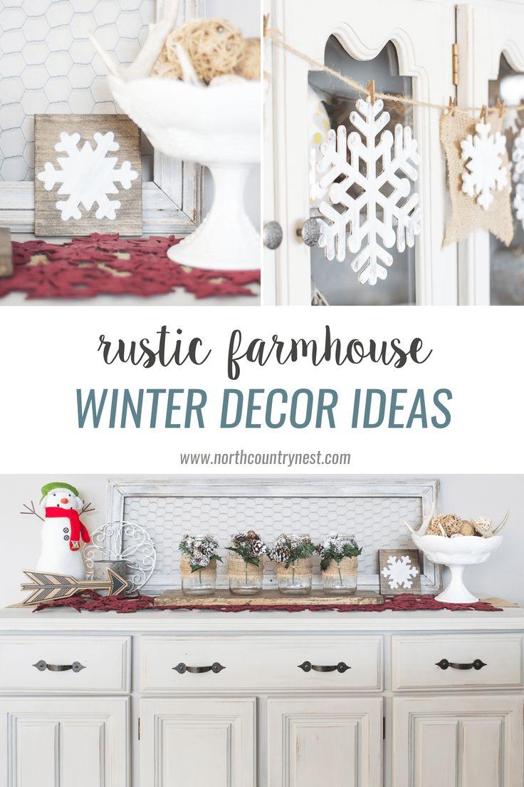 36 best Winter Decorating images on Pinterest | Decoration crafts ...