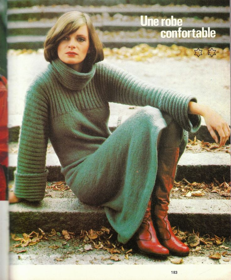 DIY vintage, couture, tricot, loisirs créatifs, années 70: pull tube ou kimono