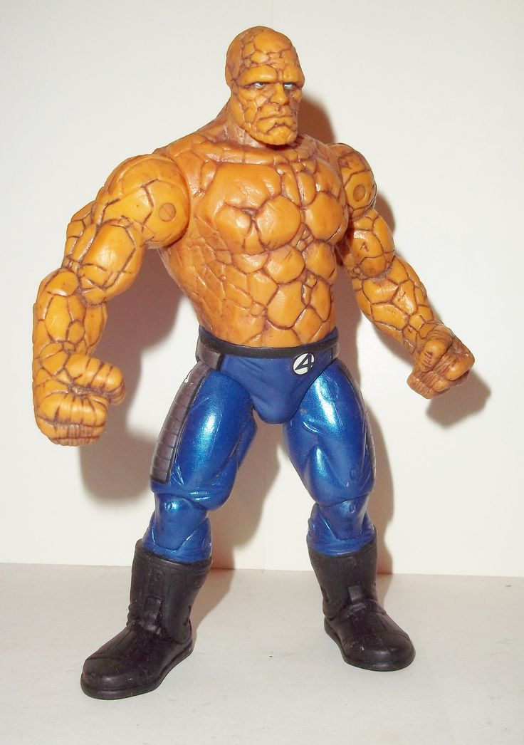 marvel legends THING fantastic four 4 movie series 5 1/2 inch 2 rise of the silver surfer