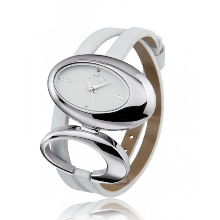 Ladies stainless steel Arcane white watches - Xc38