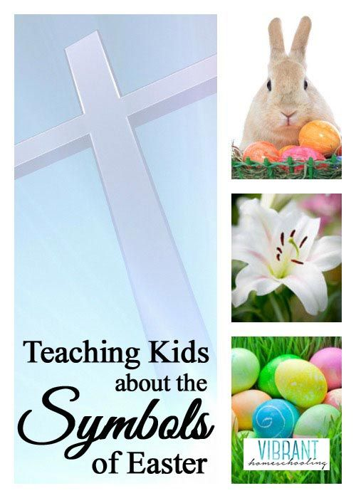 Have you ever wondered where the typical Easter symbols came from and their meanings? Vibrant Homeschooling