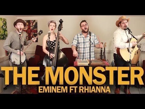 "After a crazy week of floods and being evacuated from our studio we got there in the end!..Hope you like our cover of ""The Monster"" by Eminem & Rhianna! We had a whole lot of fun making this video and hope y'all enjoy it just as much as we did :) #KEEPITBEEFY"
