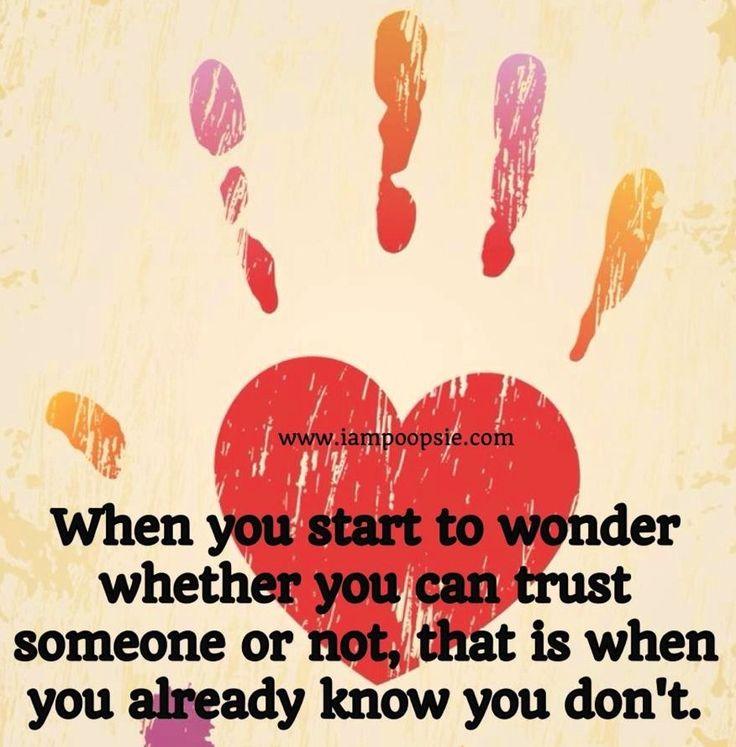 Trust quote via www.IamPoopsie.com | Quotes | Pinterest ...