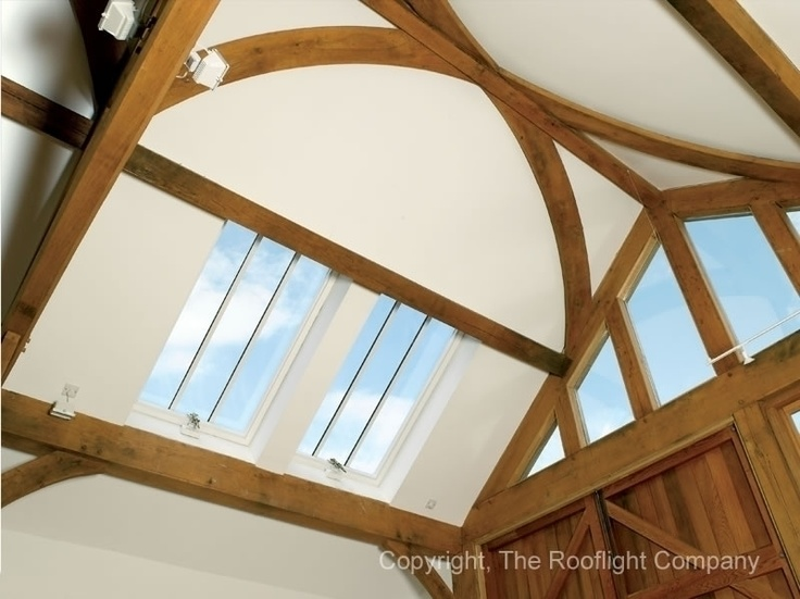 Four Conservation Rooflights® played a significant part in the success of this artist's studio in winning the Chilterns Building Design Award for architect Jon Allen. It was extremely important that this artist's studio be well lit for the intricate work of producing craftsman designed sundials. Four CR-15s met the brief and fully satisfied the requirements of Oxfordshire planning authority.    Read Full Case Study here - http://www.therooflightcompany.co.uk/bix-studio-oxfordshire