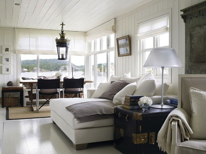 Summerhouse From The Coast Of Norway Owners Are Architect And Interior Designer Geir Fossland Elin Interirmagasinet