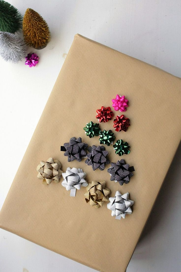 Brown Paper Gift Wrapping Ideas For Christmas