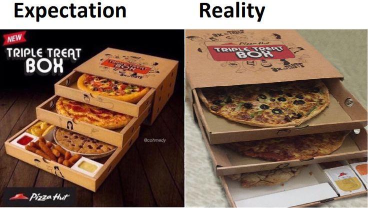 Pizza Hut Triple Threat Box - http://www.seethisordie.com ...