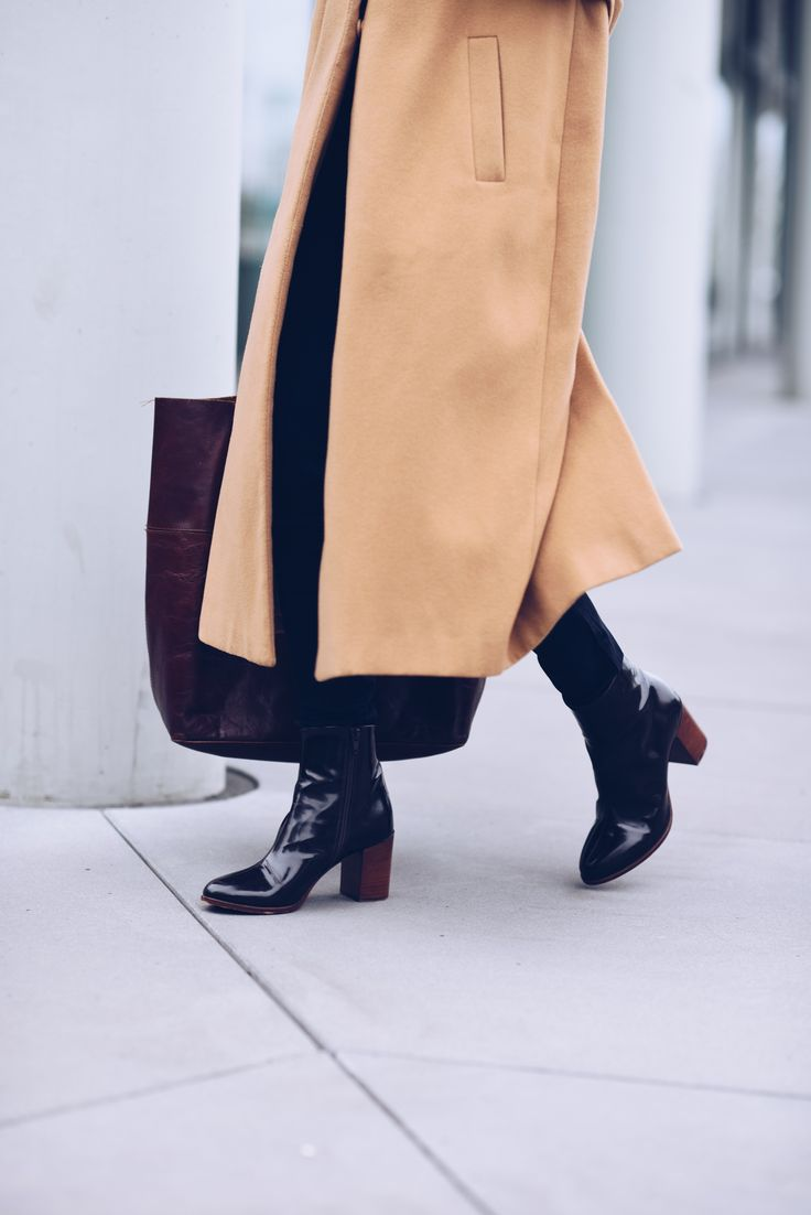 #ankleboots #boots #scarosso #camelcoat #coat #primark #outfit #ootd #blogger http://fashiontipp.com