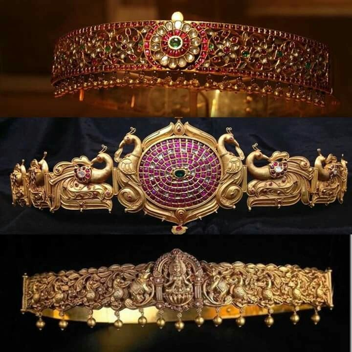 Traditional South Indian waist adornments for brides