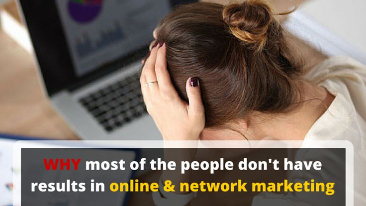 It's not a secret that most people don't make money in online & network marketing and here's one of the most important reason: http://brandonline.michaelkidzinski.ws/why-most-of-the-people-dont-have-results-in-online-network-marketing/