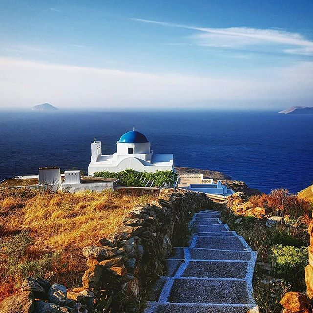 Panagia Skopiani, Serifos, Cyclades...  Photo from @faye_gk!  #serifos #greece