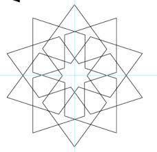 Resultado de imagen de how to draw simple islamic patterns